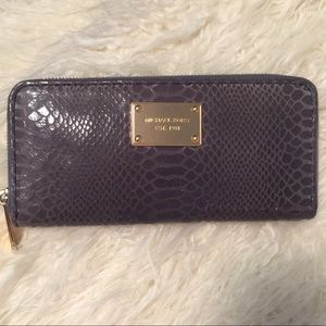 MICHAEL KORS Gray Wallet